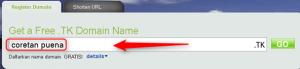 kumpulan domain gratis, cara daftar domain gratis